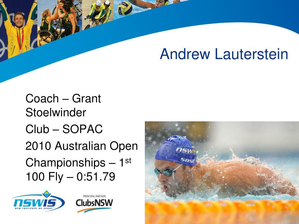 Andrew Lauterstein