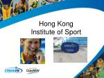 hong kong institute of sport