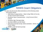 nswis coach obligations35