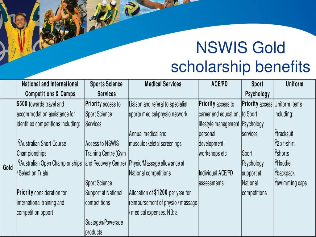 NSWIS Gold