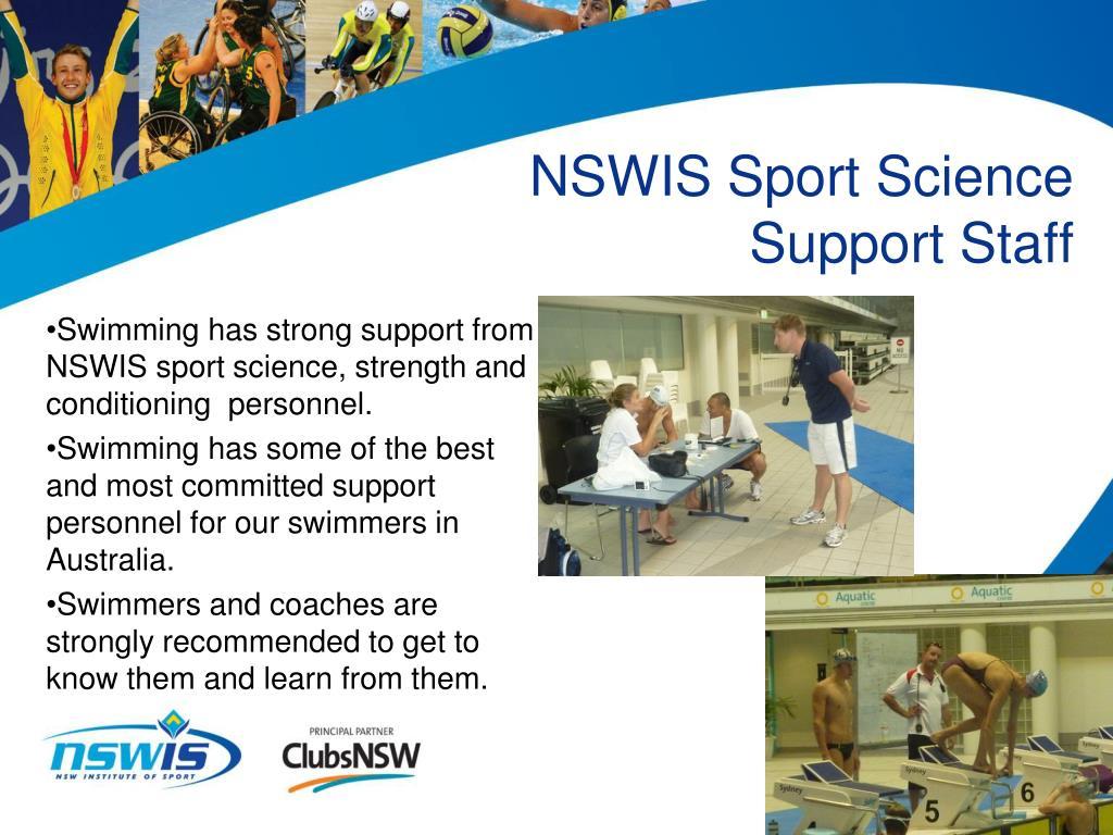 NSWIS Sport Science