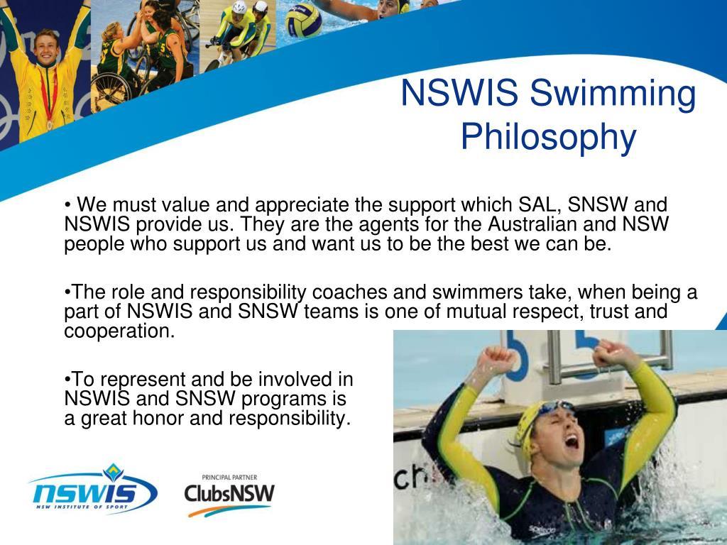 NSWIS Swimming