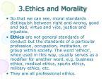 3 ethics and morality