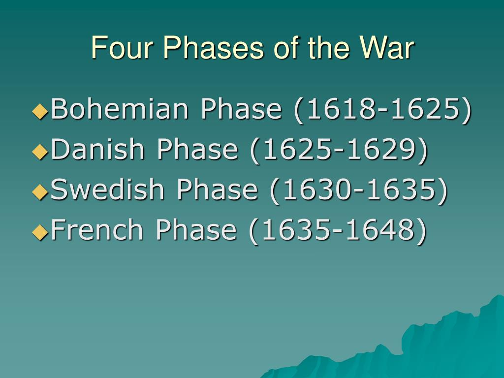 Four Phases of the War