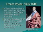 french phase 1635 1648