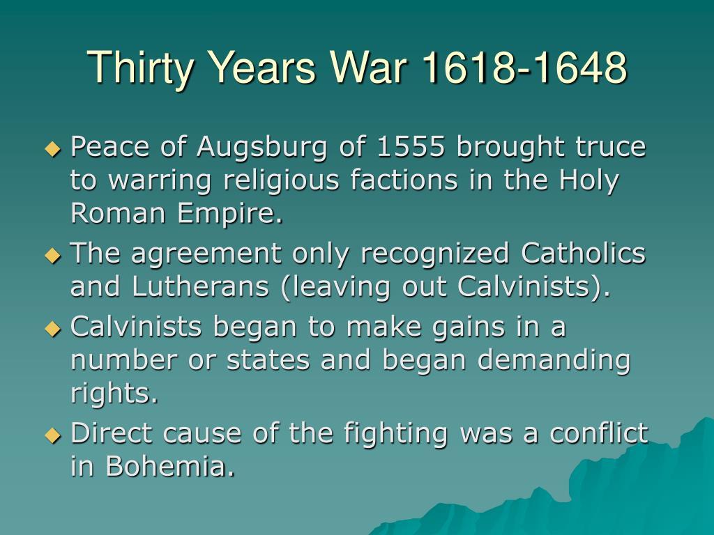 Thirty Years War 1618-1648
