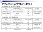 process controller states