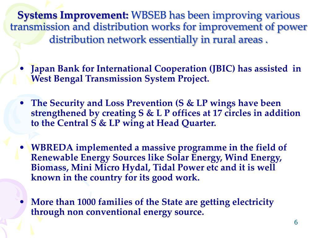 Systems Improvement: