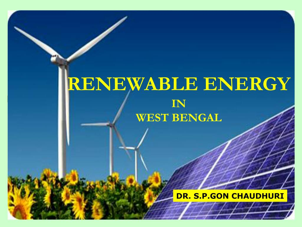 renewable energy in west bengal l.