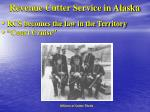revenue cutter service in alaska