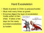 hard exoskeleton