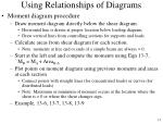 using relationships of diagrams13