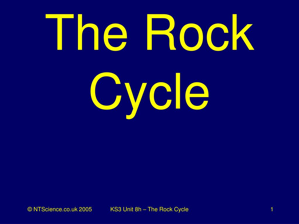 the rock cycle l.