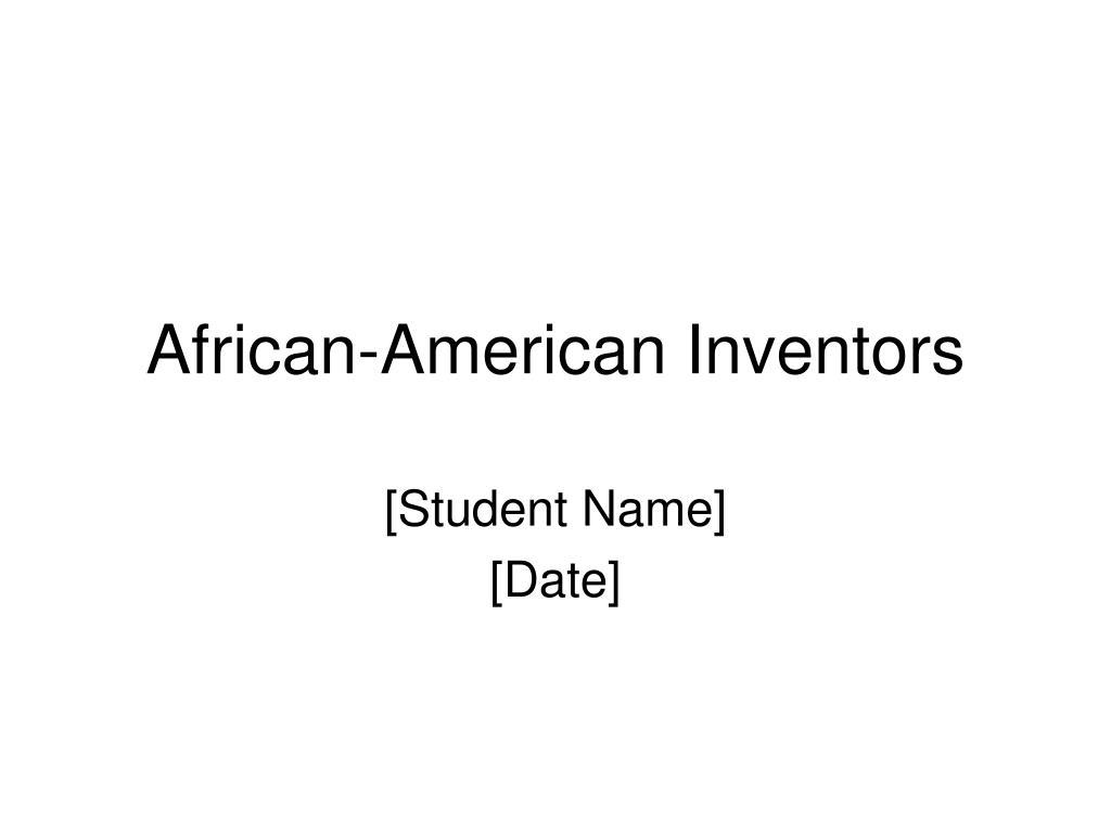 african american inventors l.
