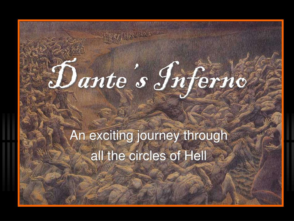 Ppt Dante S Inferno Powerpoint Presentation Free Download