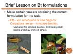 brief lesson on bt formulations2