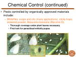 chemical control continued3