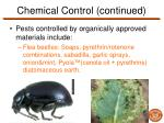 chemical control continued6