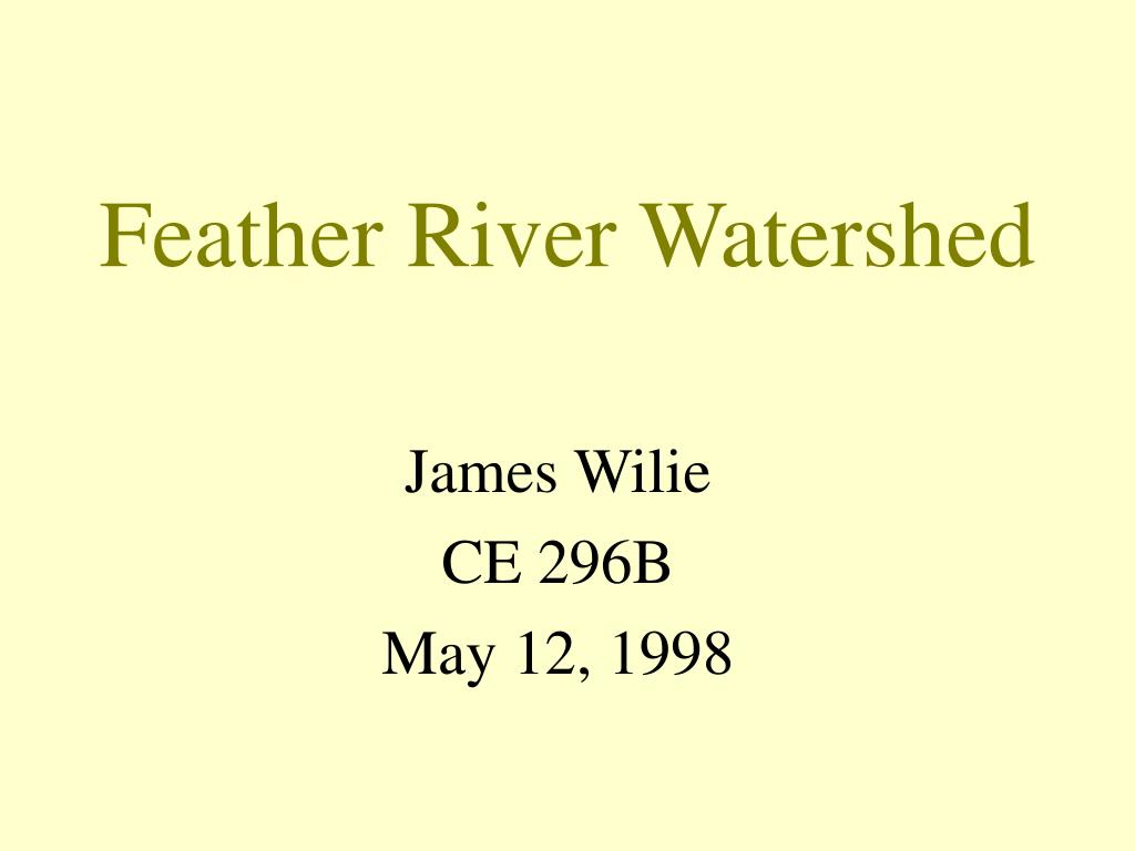 feather river watershed l.