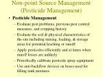 non point source management pesticide management