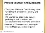 protect yourself and medicare