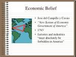 economic belief