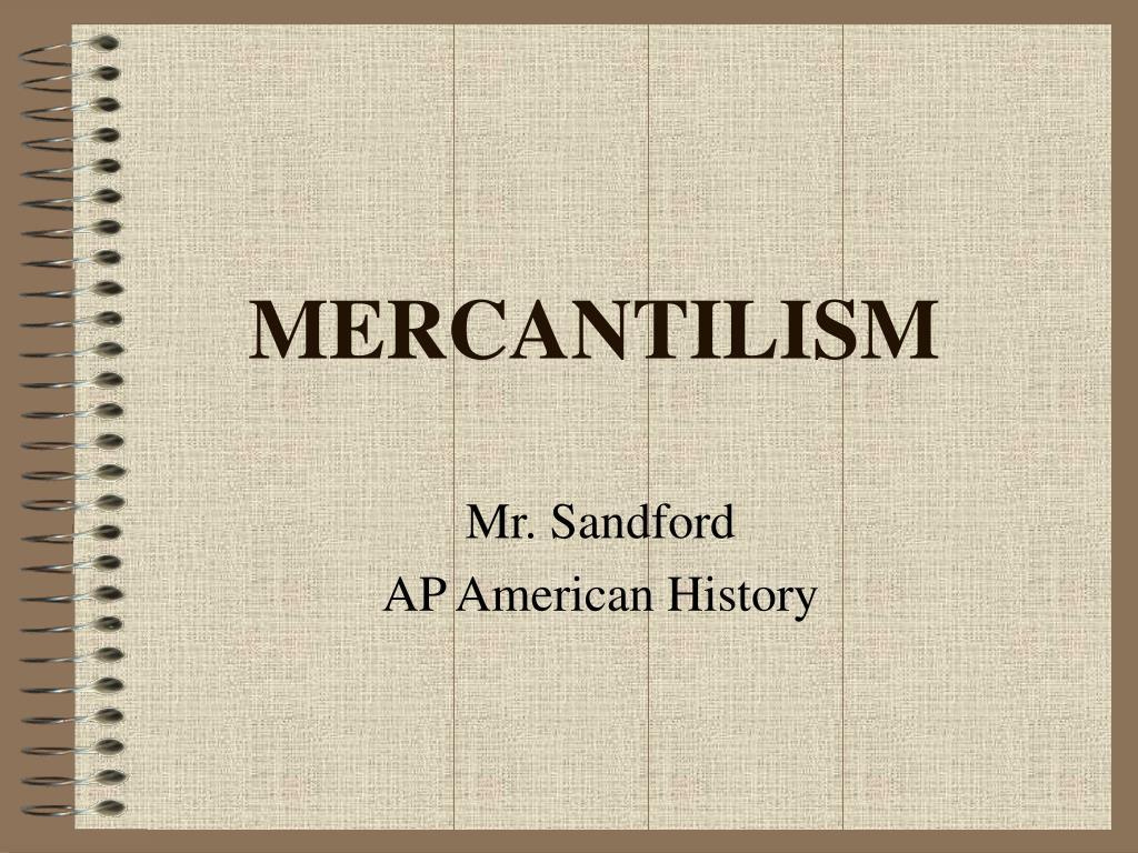 mercantilism l.