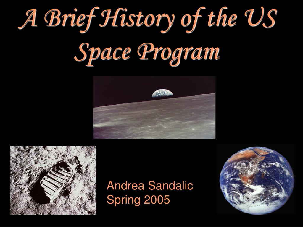 PPT - A Brief History of the US Space Program PowerPoint