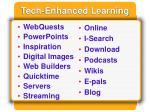 tech enhanced learning