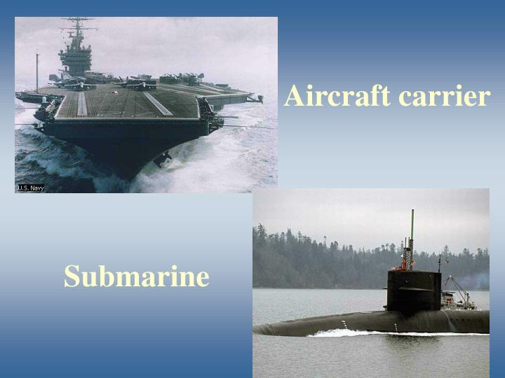 Aircraft carrier