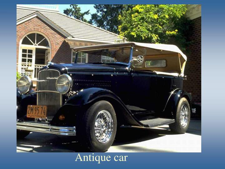 Antique car