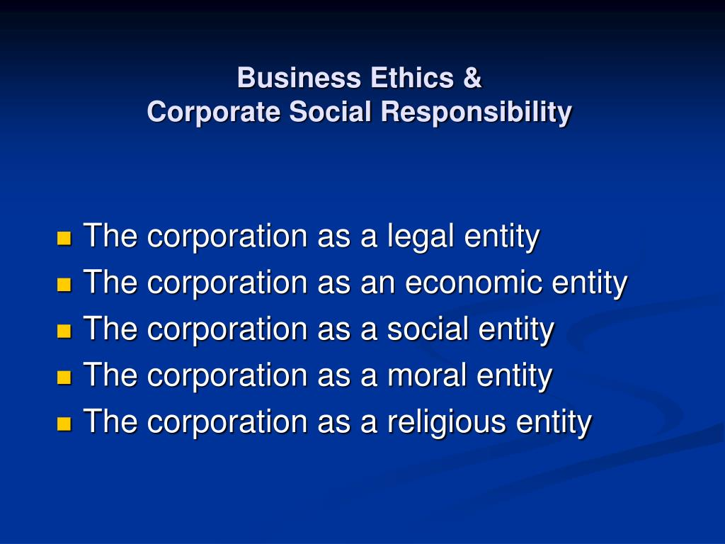 explain the responsibility of the corporation as a moral agent Explain the role of company as a moral agent human persons are the primary agents of moral responsibility a bail bond agent is a person or corporation.