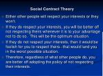 social contract theory28