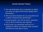 social contract theory30