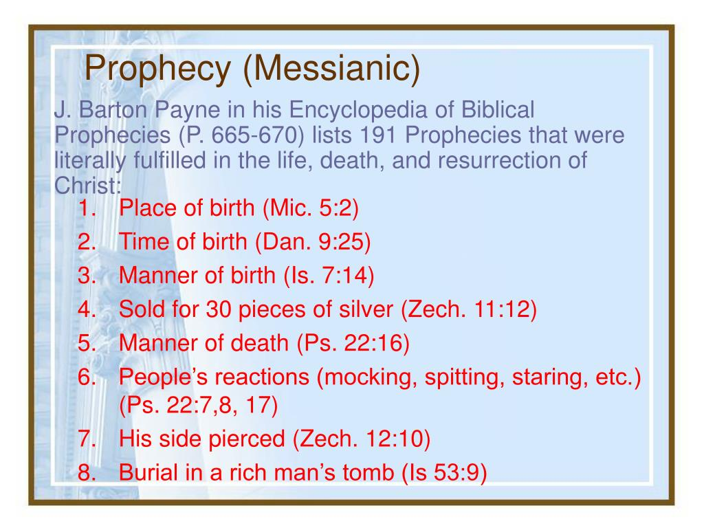 Prophecy (Messianic)