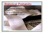 statistical probability