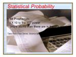 statistical probability32