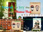 tutorial for diy the particular christmas cards