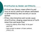 stratification by gender and ethnicity12