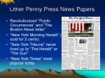 other penny press news papers