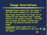 image descriptions