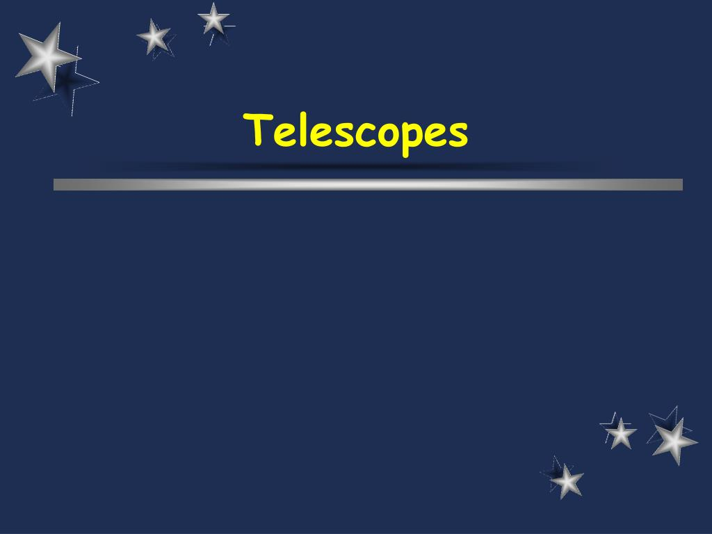 telescopes l.