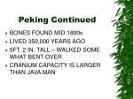 peking continued