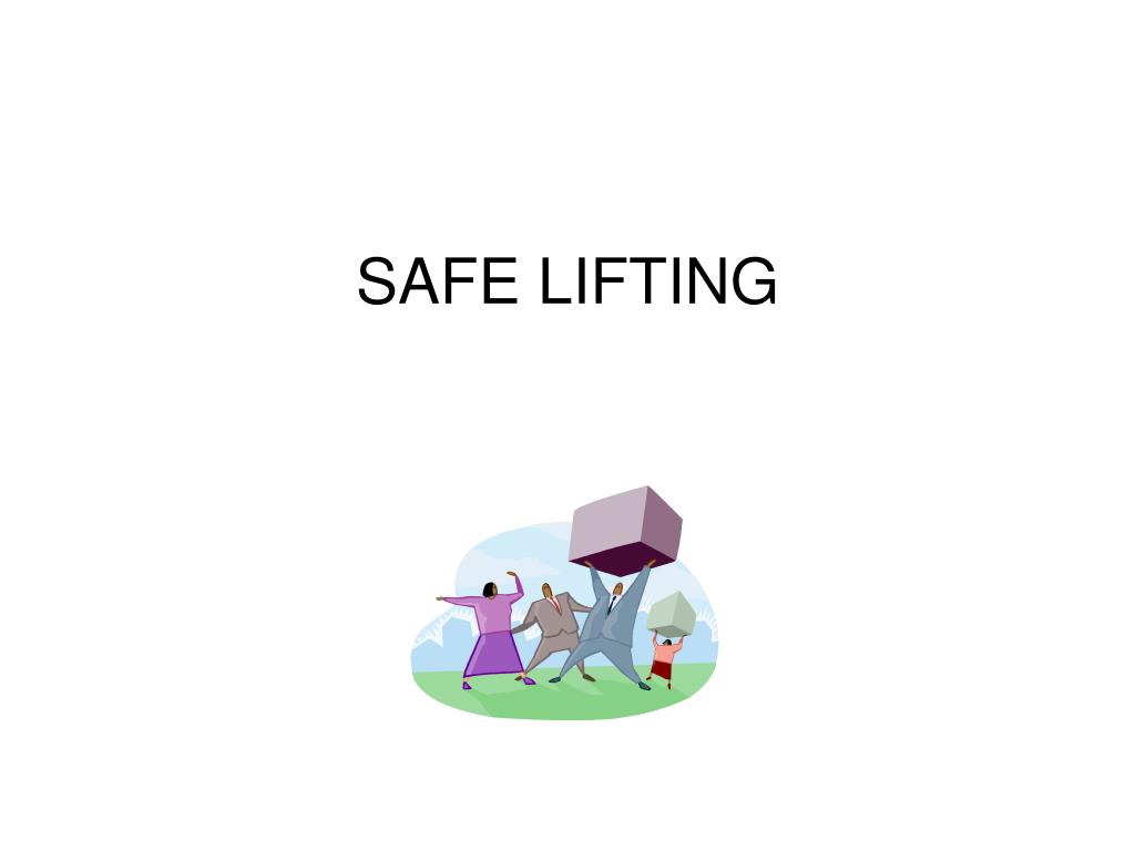 safe lifting l.