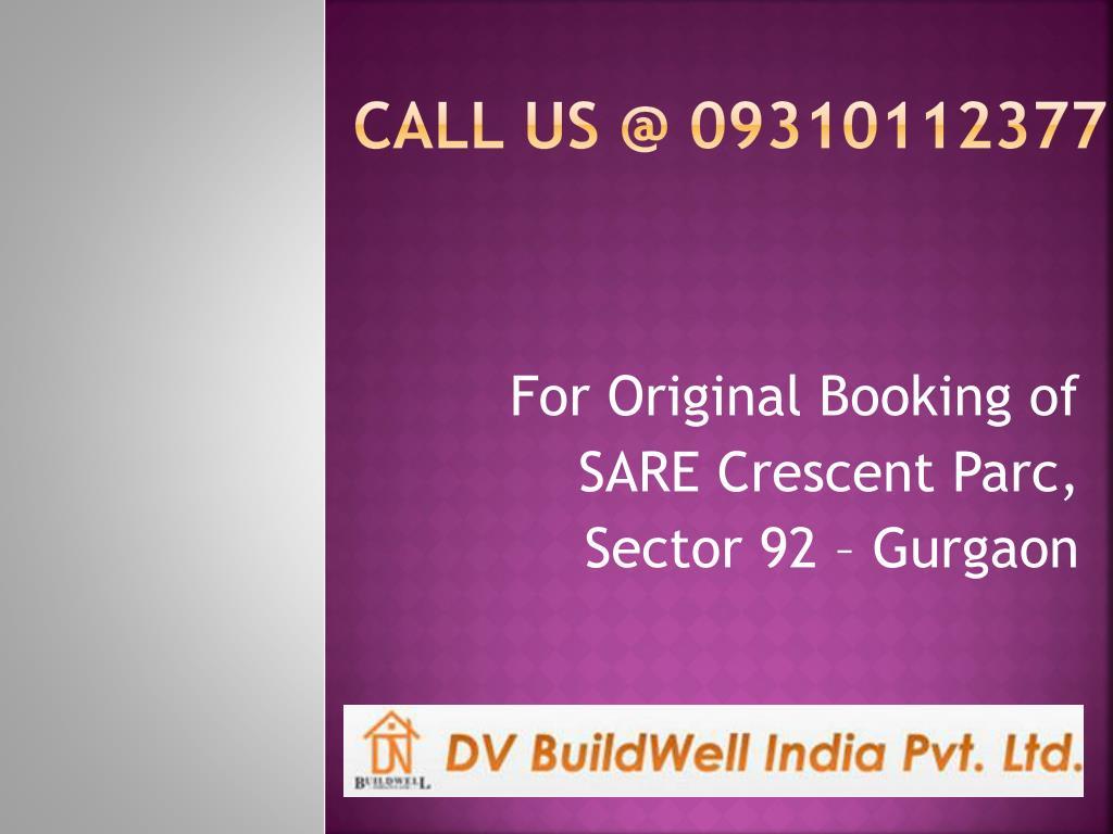 call us @ 09310112377 l.