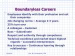 boundaryless careers44