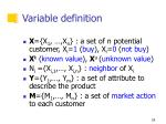 variable definition