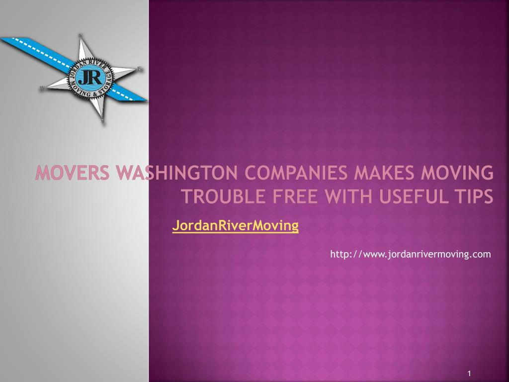 movers washington companies makes moving trouble free with useful tips l.