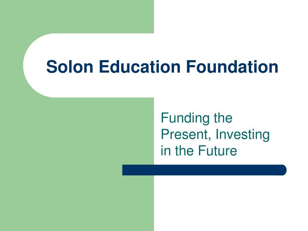 solon education foundation l.
