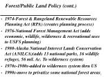 forest public land policy cont5